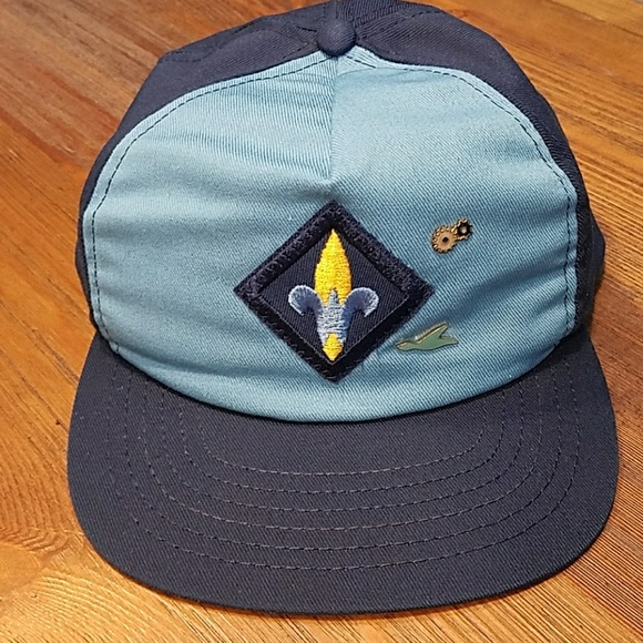 bf37895a03 Killer, BOY SCOUT, snapback hat with badge pins!!