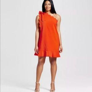 Victoria Beckham for Target One Shoulder Dress