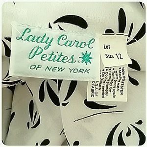 Lady Carol Petites of New York Skirts - Vintage Lady Carol Petites Skirt Set Size 12