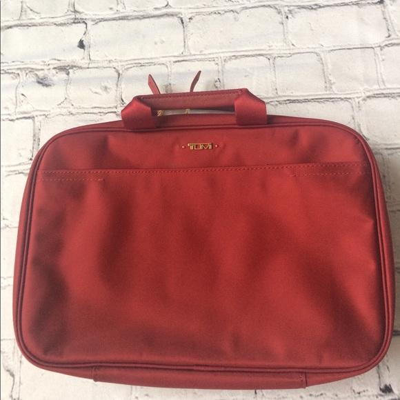 Tumi Bags   Voyageur Monaco Travel Kit Red Crimson   Poshmark 69cd982d62
