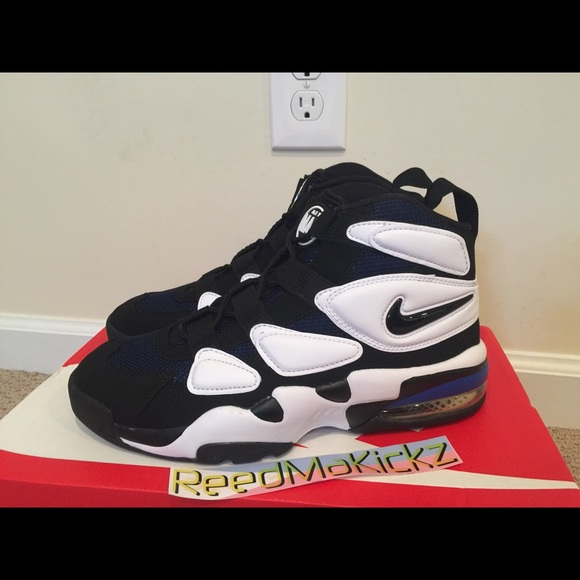 2931de4d469 Nike air max2 uptempo  94 Duke white blue