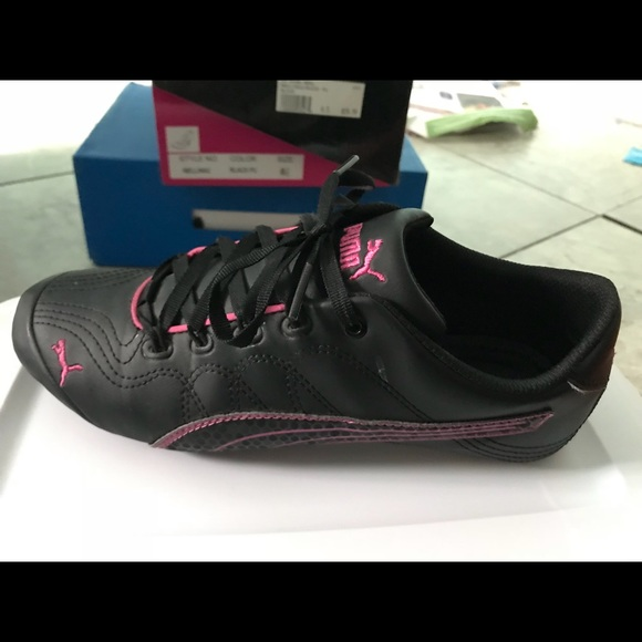 Puma Shoes   Pink And Black Pumas
