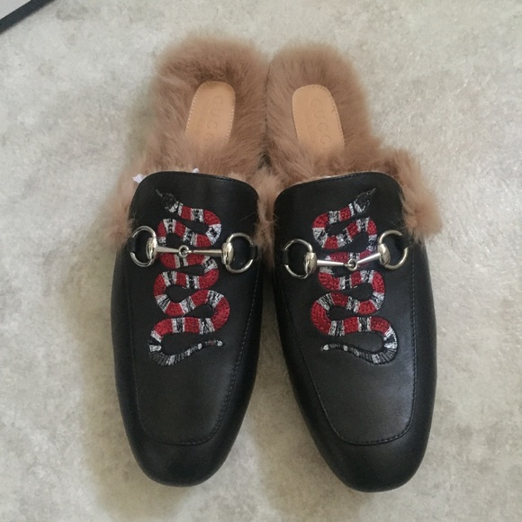 afcb7c07641 Gucci Other - gucci princetown slippers us 10 for men