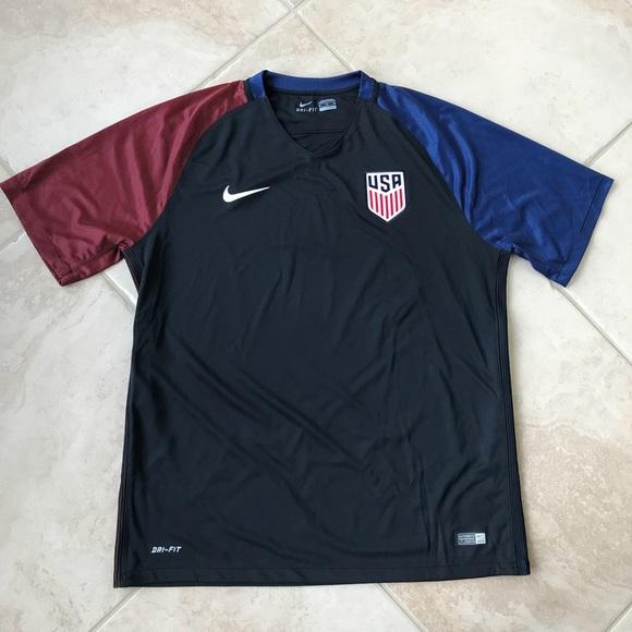 Team USA Soccer Performance Shirt Nike Dri-Fit NWT