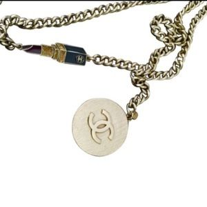 Authentic Chanel belt-necklace