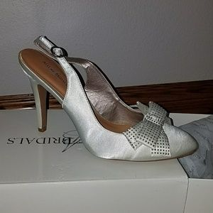 Allure Bridals womens wedding shoes.