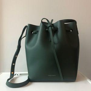Mansur Gavriel | Mini leather bucket bag