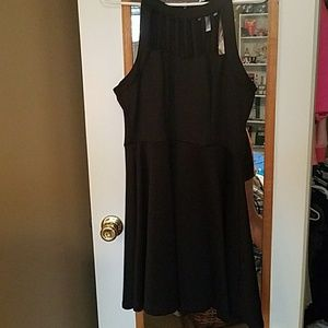 Semi formal black dress