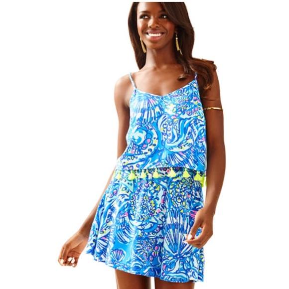 12d2108aa Lilly Pulitzer Skirts | Ramona Crop Top And Skort Set | Poshmark