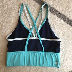 6c1099d3ba87e Gymshark Intimates   Sleepwear - Gymshark Balance Sports Bralette Navy  Medium