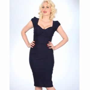 Stop Staring wiggle pinup dress rockabilly retro