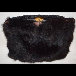 Handbags - VTG BEAR FUR Rare Muff/Clutch, 1920s