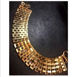 Jewelry - X Large  14k  Reversible Design Watch Bracelet