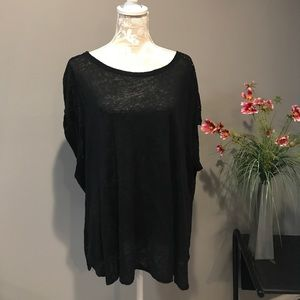 Calvin Klein Top 2X Back is Perforated
