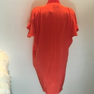 Vince Tops - Vince Coral Tunic