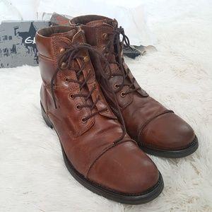 GBX Shoes   Gbx Brando Cap Toe Side Zip