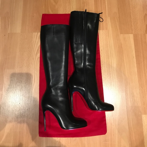 new concept 624ce da3f7 Authentic Christian Louboutin Botalili boots. NWT