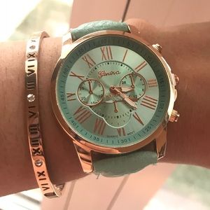 Accessories - Teal Statement Watch