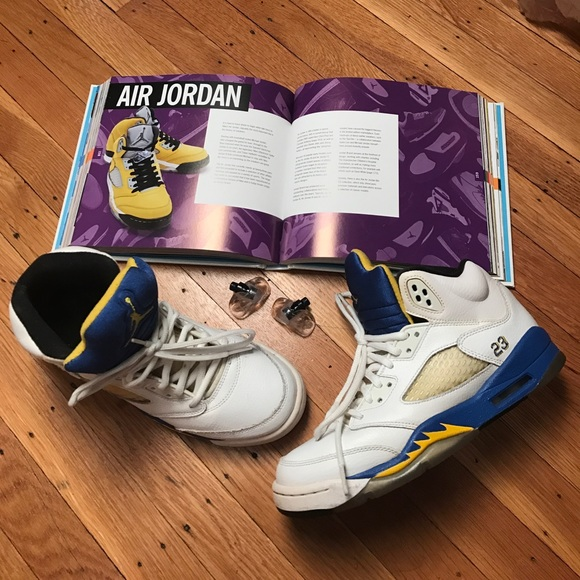 a7de3b3fbd612f Air Jordan Other - Nike Air Jordan Retro Laney 5 size 6Y
