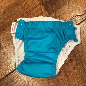 Other - Blueberry Reusabe cloth swim diaper Medium