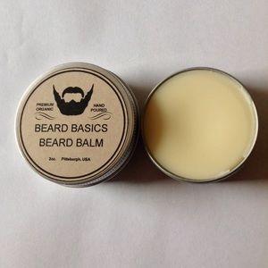 Beard Balm 2oz Choice Scent Beard Basics USA