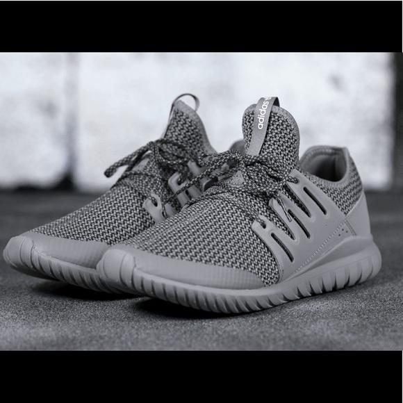 4183b1686f5b adidas Shoes - 🍾SALE Adidas Gray Tubular Radial J s