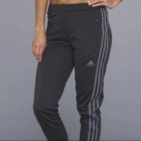 Adidas Charcoal Grey Climacool Joggers