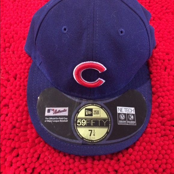 official photos a1862 abb7c Cubs fitted hat 7 1 4. NWT. New Era