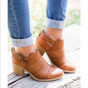 Shoes - 1 SIZE 10 left!!! SOPHIA Cut Out Bootie