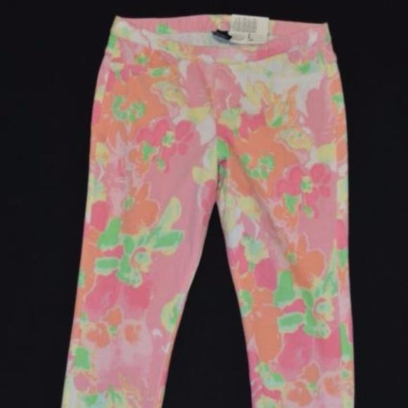 a631e4150158e HUE Pants | Nwt 42 Watercolor Jeans Capri Leggings Size M | Poshmark