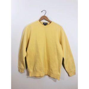 Lands End • Yellow Crewneck Sweatshirt