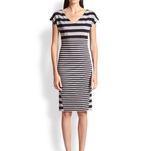 Max Mara striped jersey dress