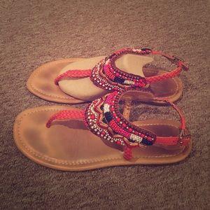 Tribal Gap thong sandals