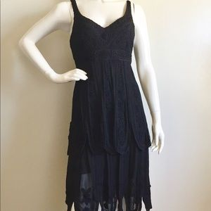 Sue Wong Black Vintage 20's Style Cocktail Dress!
