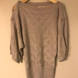YA Los Angeles sweater tunic