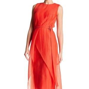 SOLD Hugo Boss Deliri Pleated Dress $1495