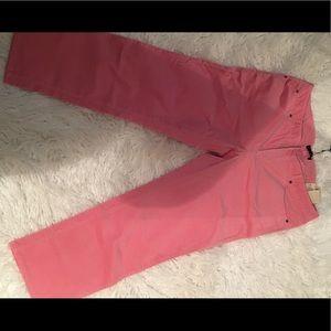 Pants - Talbots Dust Pink Corduroy Ankle Length Pants
