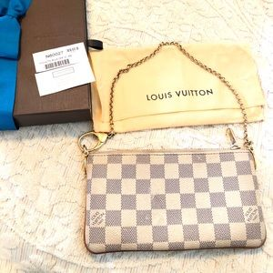 07804eb66e75 Louis Vuitton Bags - Louis Vuitton Milla Damier Azur MM Pochette