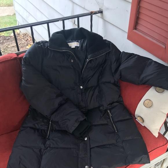 91a2fa0fb Michael Michael Kors Black Down Puffer Coat