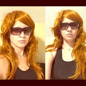 Accessories - Ginger Shaggy Long Layered Wig