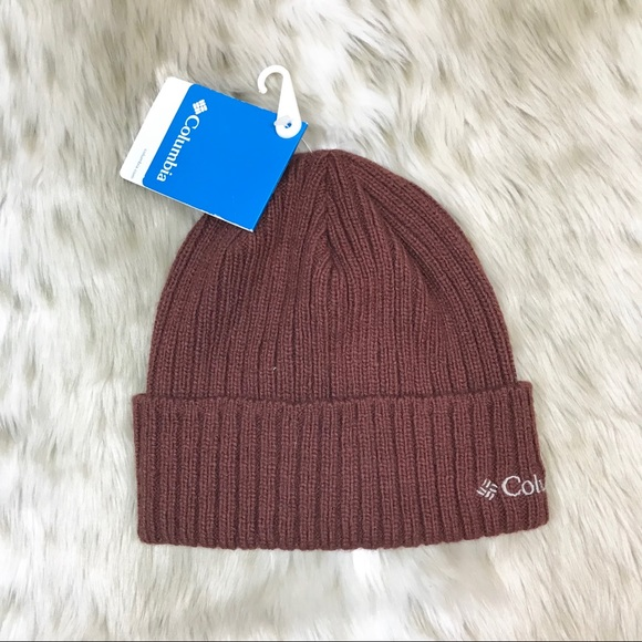 Columbia Watch Cap Knit Winter Beanie Cuffed Hat 57d2fbccf24