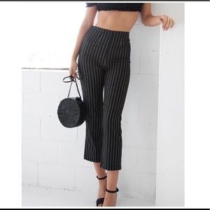 Brand new striped Bette pants 🍷