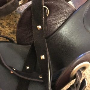 Gucci Shoes - Gucci Dark Brown Strappy Sandals With Heel