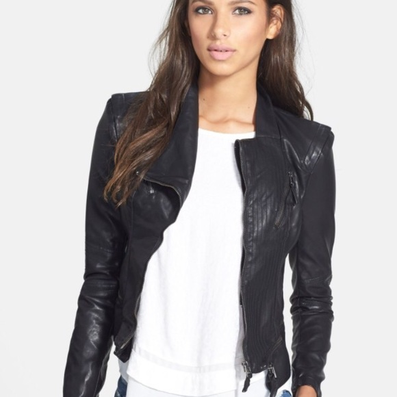 Blank NYC Jackets & Blazers - BlankNyc faux leather jacket