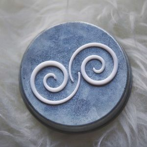 Spiral Tapers, White 8G(3mm)