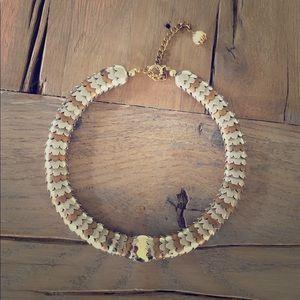Vintage Scalloped Choker Necklace
