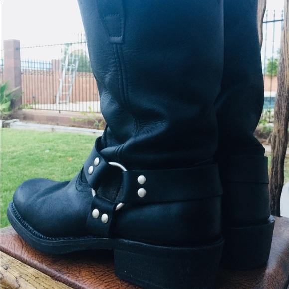 fa5648ff633 Cody James Men's Black Harness Boots - Square Toe