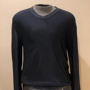 Emporio Armani Dark Navy Sweater Sz L