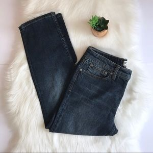 Free People Slim Straight Relaxed Fit Jeans