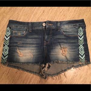 New Express Denim Shorts size 8